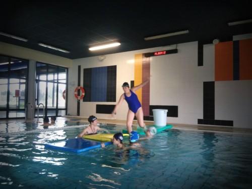 Actividad nataciones especiales