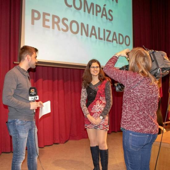 Elsa entrevistada por Aragón Televisión